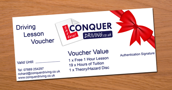 Driving Lesson Gift Vouchers Colchester